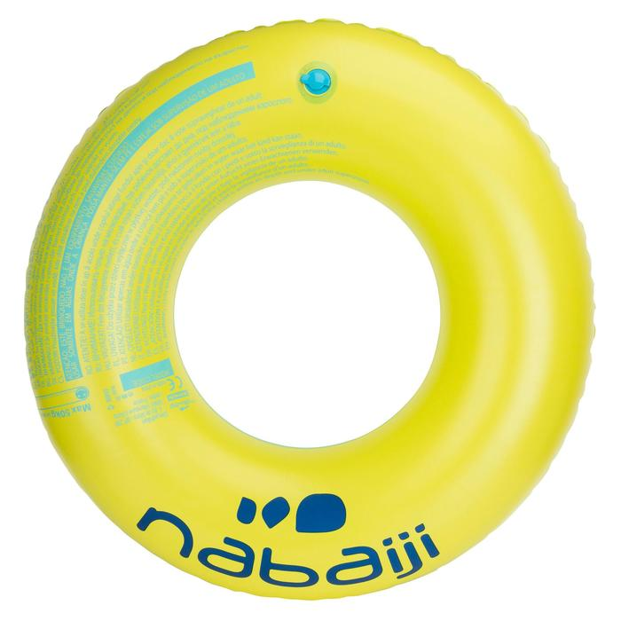 Flotador Natación Nabaiji Adulto Azul/Verde Asas 92cm hasta 90kg