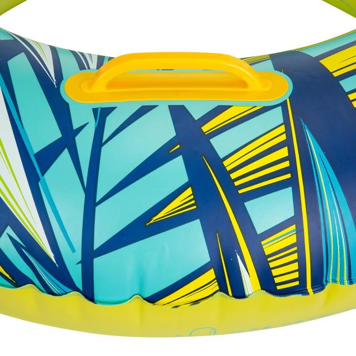 """Bouée gonflable 92 cm bleue """"TROPIC"""" grande taille avec poignées confort - 1077100"""