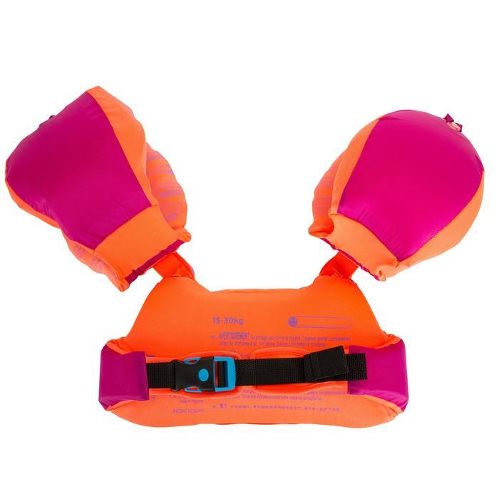兒童TISWIM浮力臂圈-腰帶,粉紅色「人魚」圖案