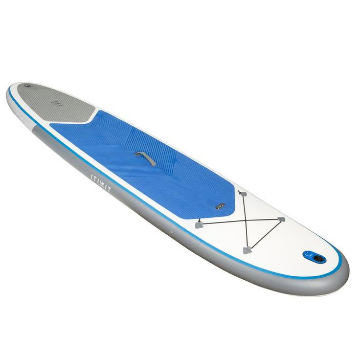 STAND UP PADDLE GONFLABLE RANDONNEE 100 / 10'7 BLEU - 1077124
