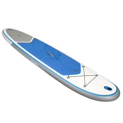 STAND UP PADDLE GONFLABLE RANDONNEE 100 / 10'7 BLEU