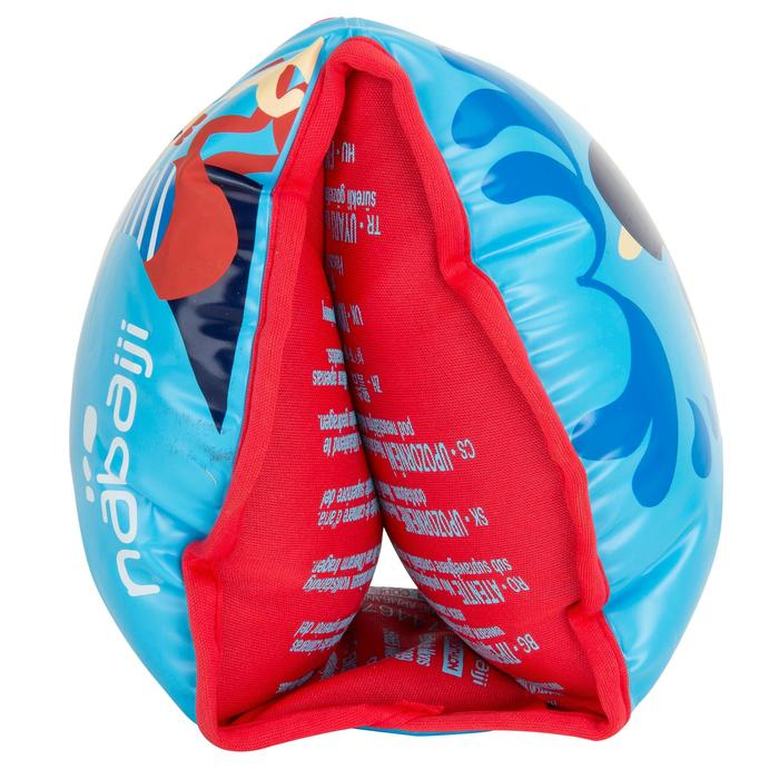"Brassards natation bleus intérieur tissu ""SOFT"" imprimé ""PIRATE"" - 1077125"