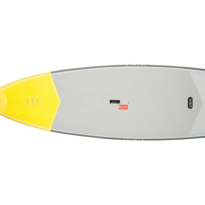 STAND UP PADDLE RIGIDE SURF 500 / 9'2 JAUNE 133 L - 1077183