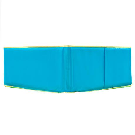 Piscinette enfant tidipool bleue avec sac de transport for Piscine decathlon pliable