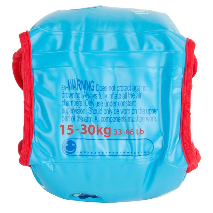 "Brassards natation bleus intérieur tissu ""SOFT"" imprimé ""PIRATE"" - 1077199"