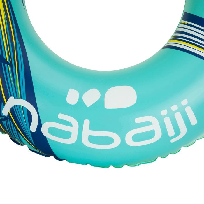 """Bouée gonflable 92 cm bleue """"TROPIC"""" grande taille avec poignées confort - 1077232"""