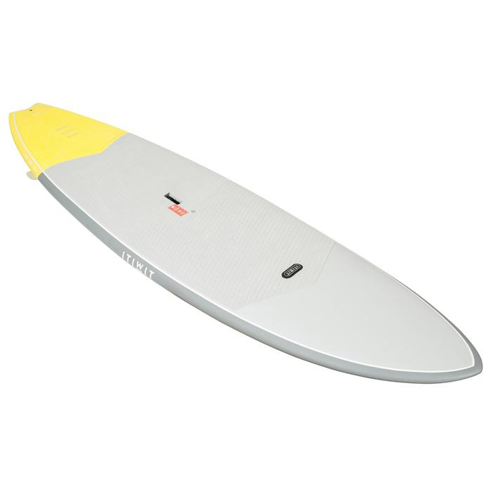 STAND UP PADDLE RIGIDE SURF 500 / 9'2 JAUNE 133 L - 1077275