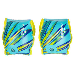 Adult swimming armbands - printed blue
