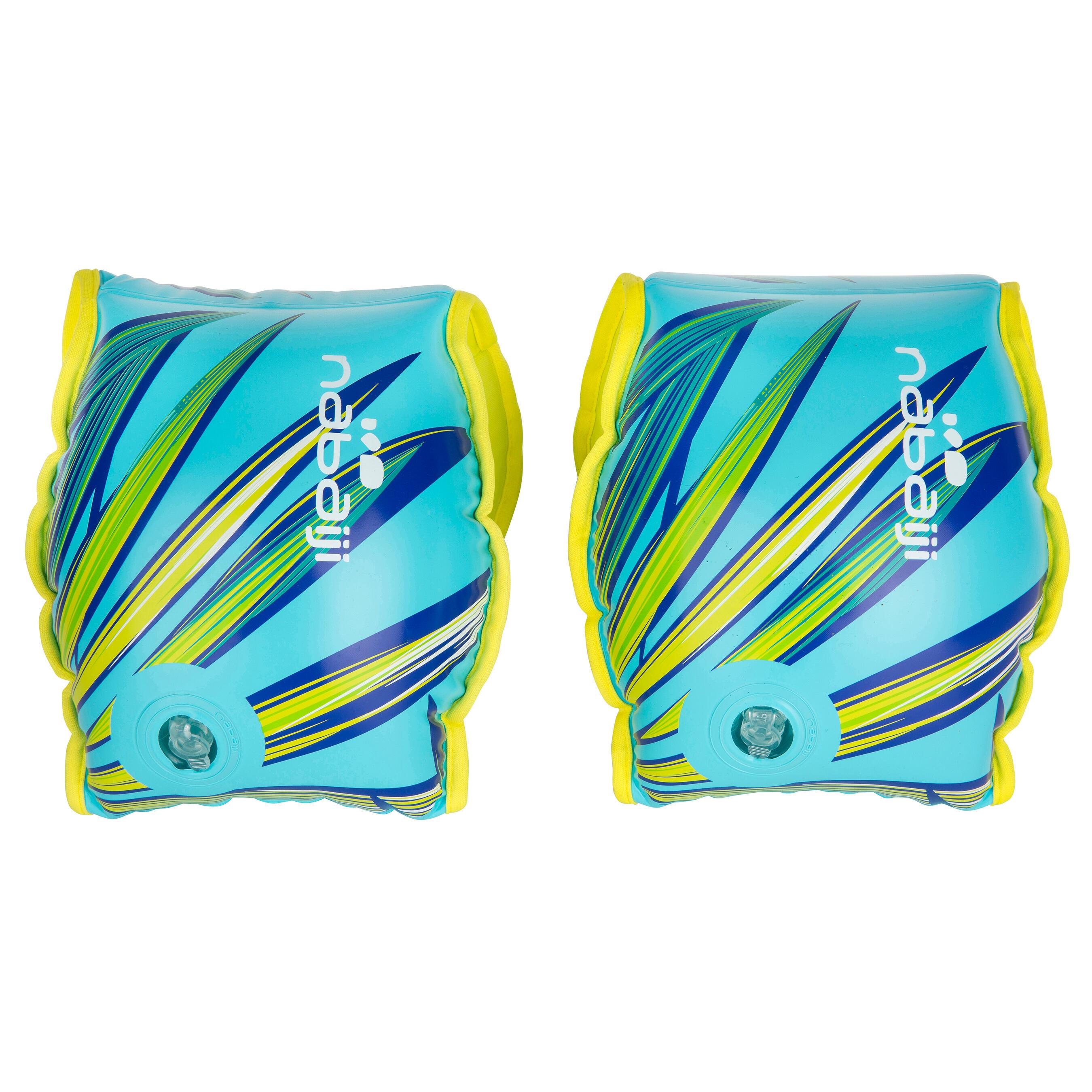 Flotadores Soft azul con dos cámaras de inflado para adultos > a 60 kg