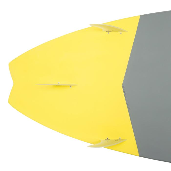 STAND UP PADDLE RIGIDE SURF 500 / 9'2 JAUNE 133 L - 1077303