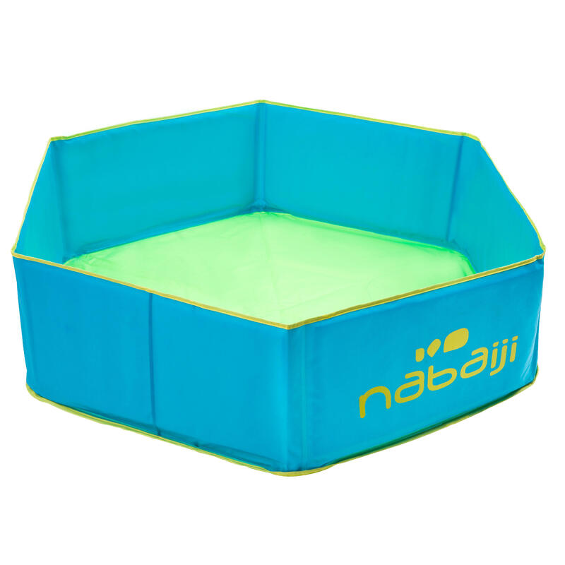 Petite piscine enfant TIDIPOOL bleue avec sac de transport étanche