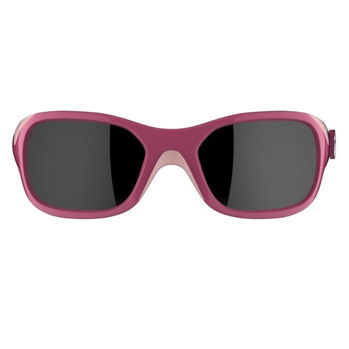 Zonnebril trekking voor kinderen 3-6 jaar Kid 500 roze categorie 4