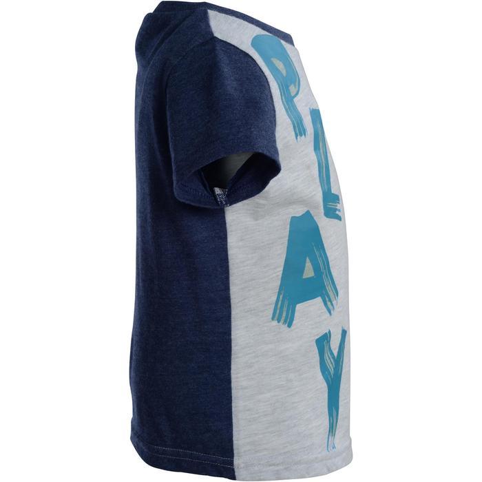 T-Shirt manches courtes imprimé Gym baby gris - 1077478