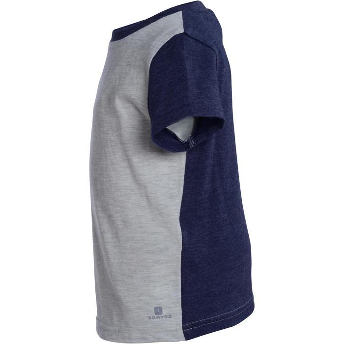 T-Shirt manches courtes imprimé Gym baby gris - 1077509