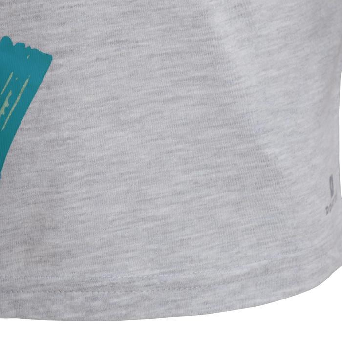 T-Shirt manches courtes imprimé Gym baby gris - 1077524