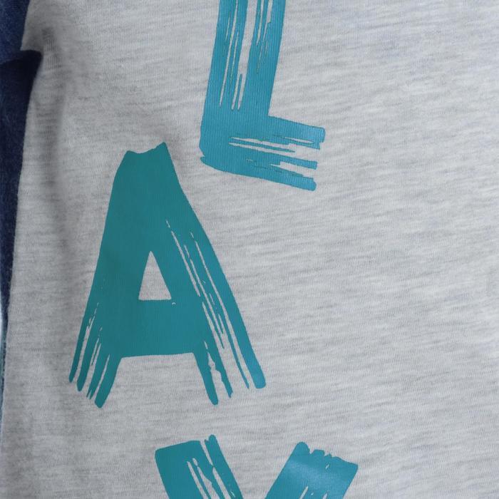 T-Shirt manches courtes imprimé Gym baby gris - 1077560