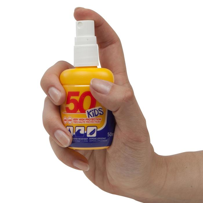 Zonnespray factor 50+ pocketformaat 50 ml
