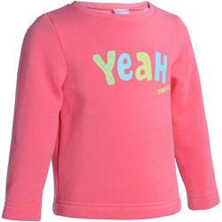 Warme gym sweater voor peuters