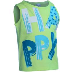 Baby Printed Gym Tank Top - Green