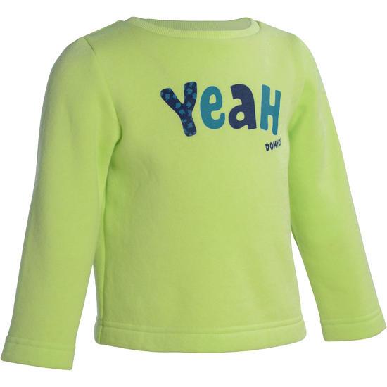 Warme gym sweater voor peuters - 1077658