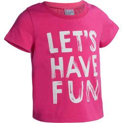 Gym T-shirt met korte mouwen voor peuters