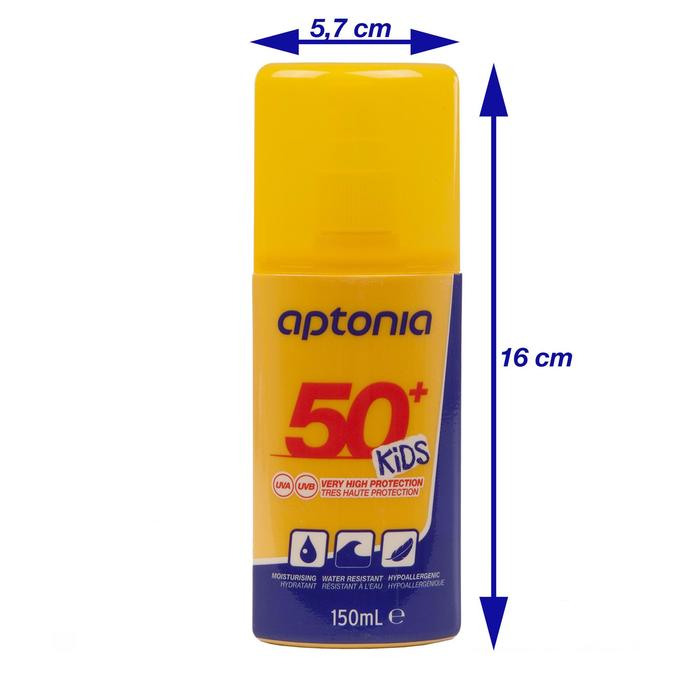 Crema Protección Solar IP 50+ 150 ml Spray