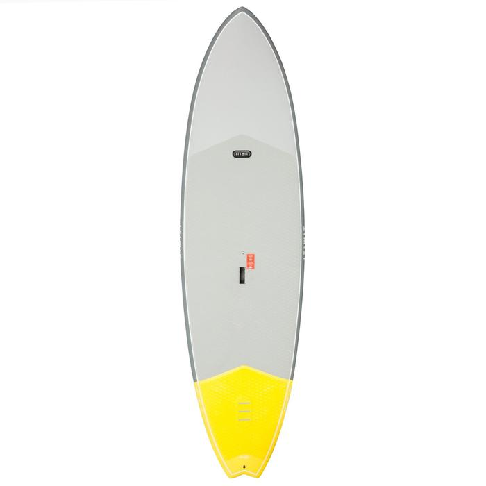 STAND UP PADDLE RIGIDE SURF 500 / 9'2 JAUNE 133 L - 1077691