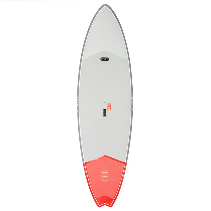 STAND UP PADDLE RIGIDE SURF 500 / 8'8 ROUGE 122 L - 1077693