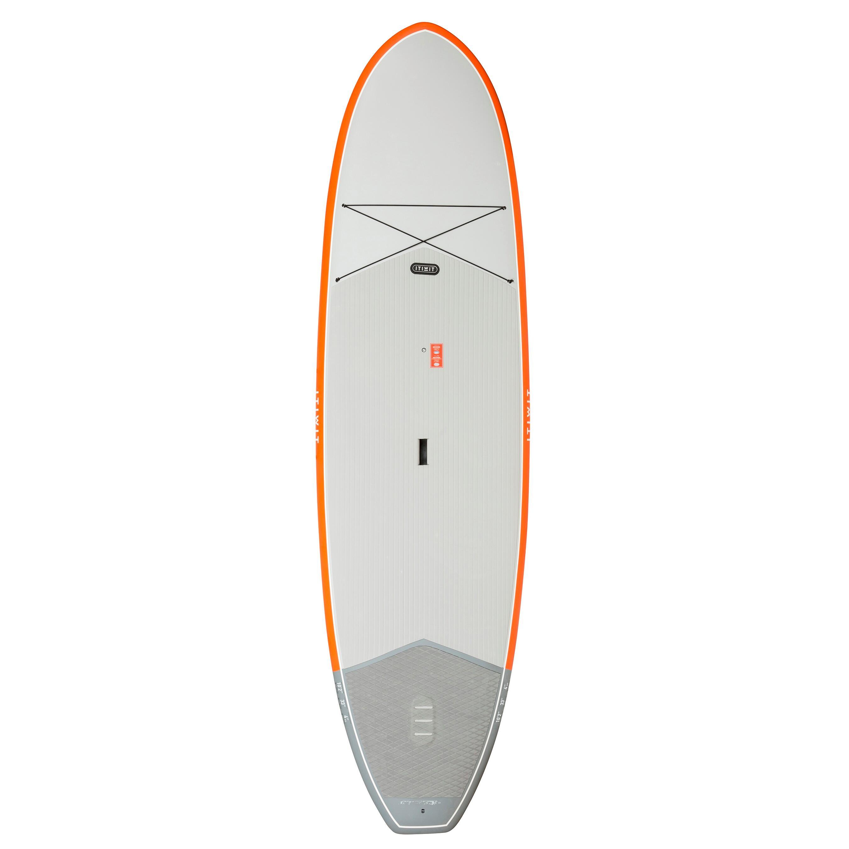efec2e76c43 Itiwit Hard stand up paddle board voor tochten 500 10'2 oranje 200 l