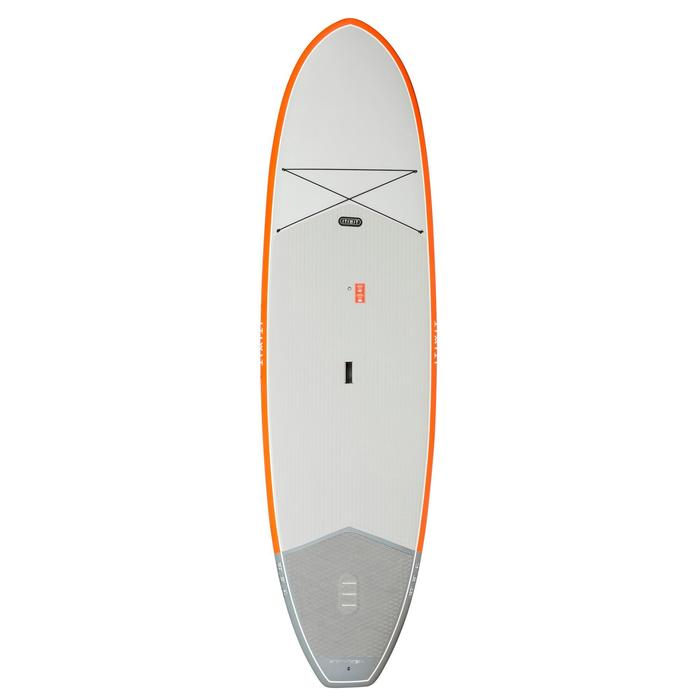 STAND UP PADDLE RIGIDE DE RANDONNEE 500 / 10'2 ORANGE - 200 L