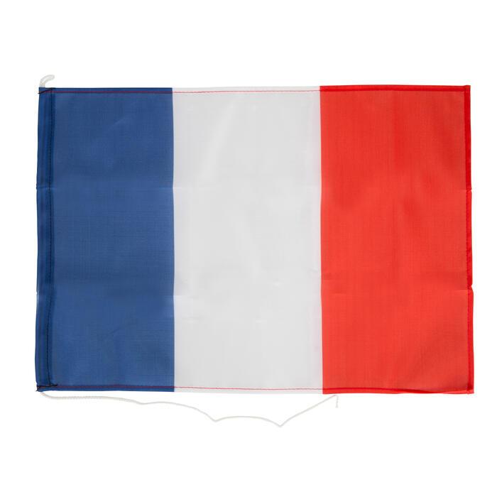 Kit 3 pavillons nationaux bateau France, N, C, France