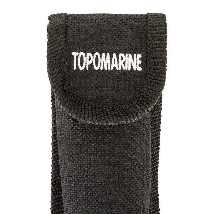 Couteau marin bateau Topomarine bleu/noir - 1077861