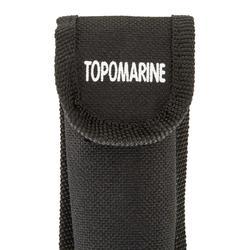 Navaja barco Topomarine azul/negro