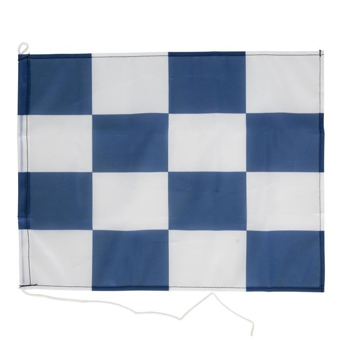 Set van 3 vlaggen voor aan boord (Franse vlag, N-vlag, C-vlag) Plastimo - 1077877