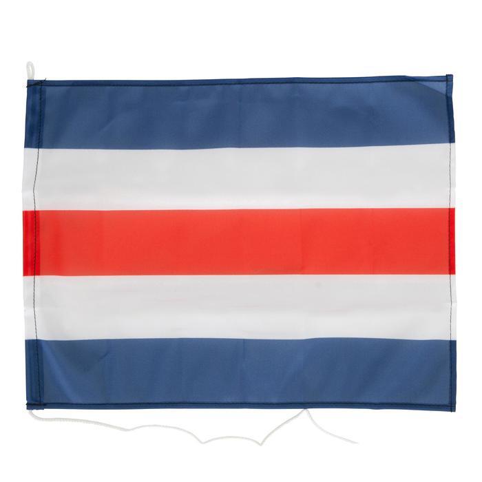Set van 3 vlaggen voor aan boord (Franse vlag, N-vlag, C-vlag) Plastimo