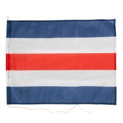Vlaggen veiligheidsuitrusting boot set met N-vlag, C-vlag en Franse vlag