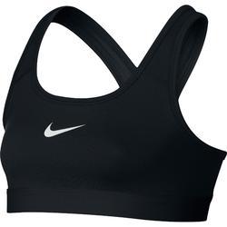 Sporttopje voor meisjes, voor fitness, zwart