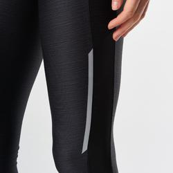 Laufhose lang Tights Run Dry+ Damen schwarz
