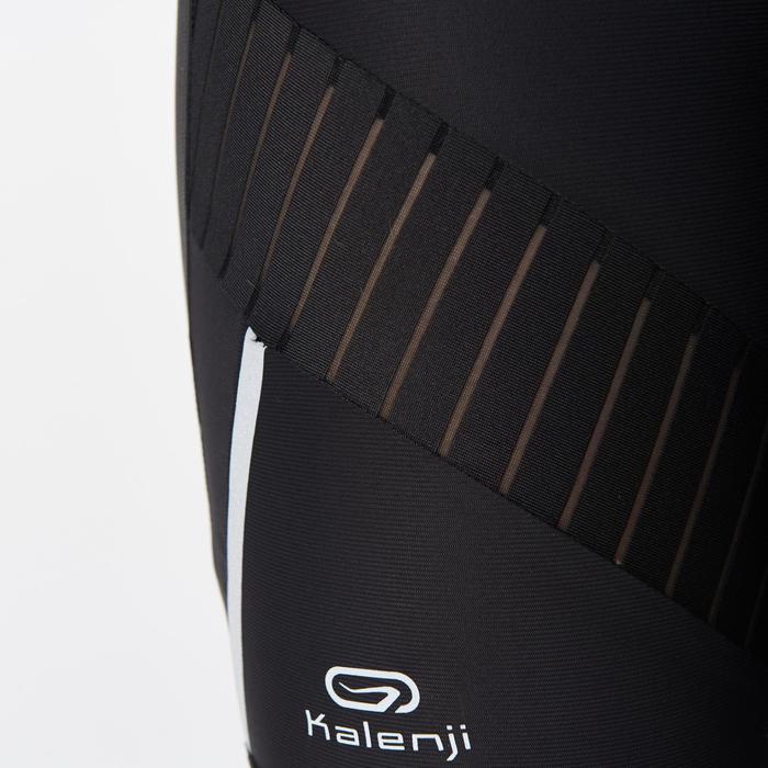 Korte hardloopbroek voor dames Kiprun Support Kalenji zwart