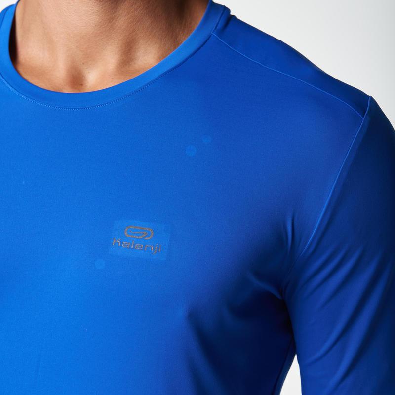 SUN PROTECT MEN'S RUNNING T-SHIRT BLUE