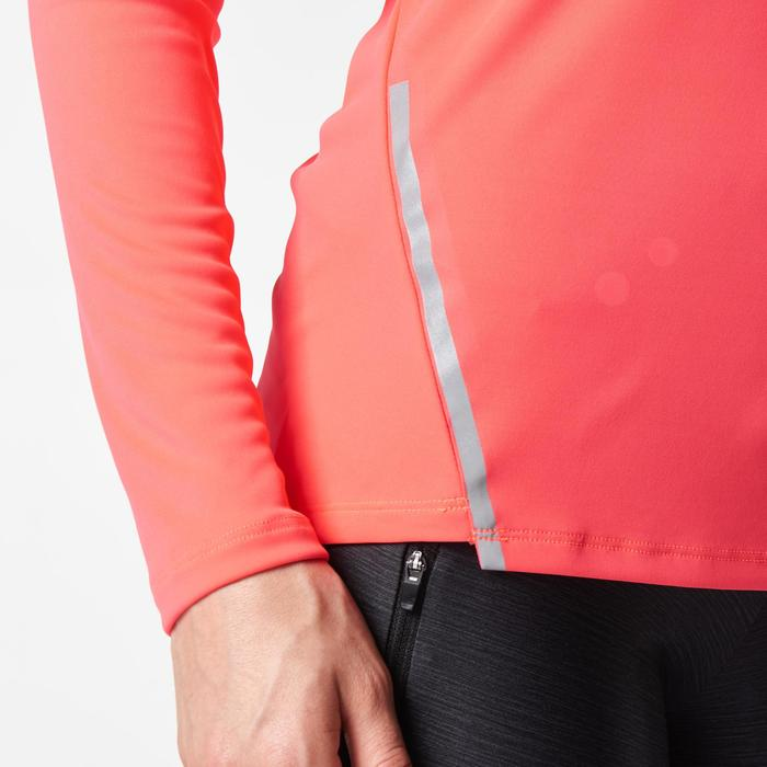 MAILLOT MANCHES LONGUES JOGGING FEMME RUN SUN PROTECT - 1078394