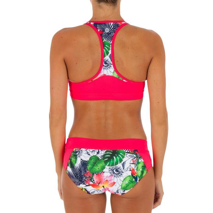 Bas de maillot de bain de surf femme avec cordon de serrage VALY FACET - 1078578