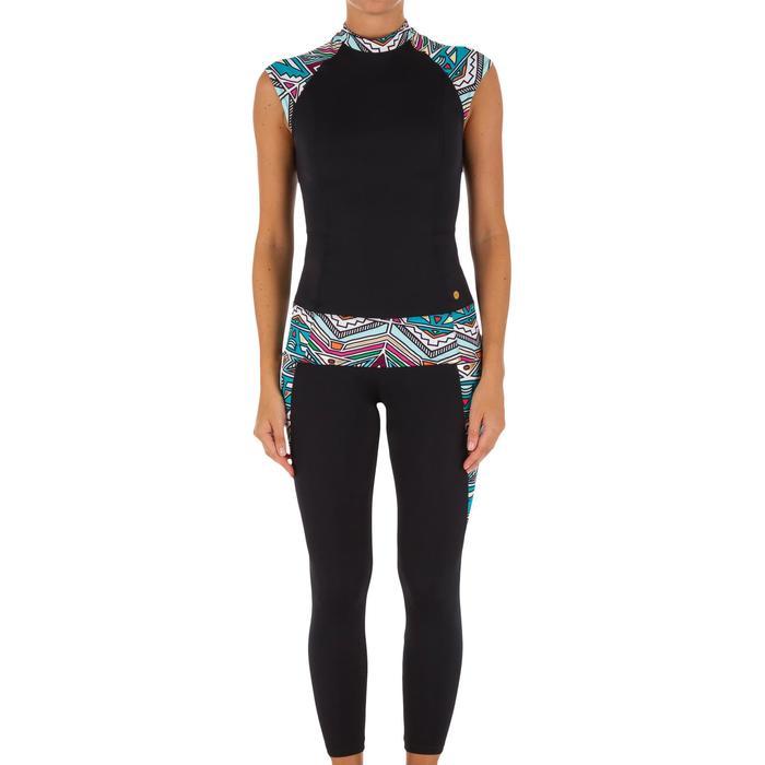 Haut de maillot de bain femme tankini avec zip dos IDYL NCOLO DORE - 1078621