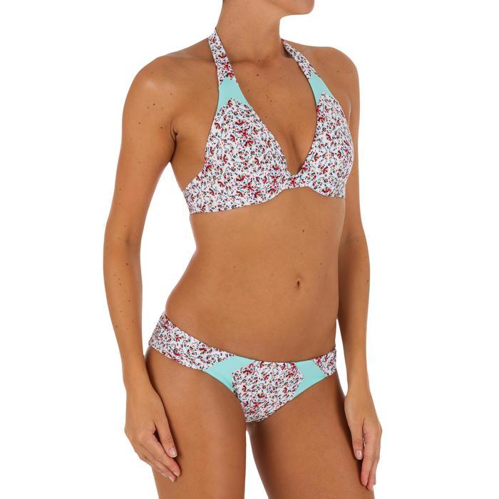 Bas de maillot de bain femme culotte NIKI COLORB avec fronces côté - 1078696