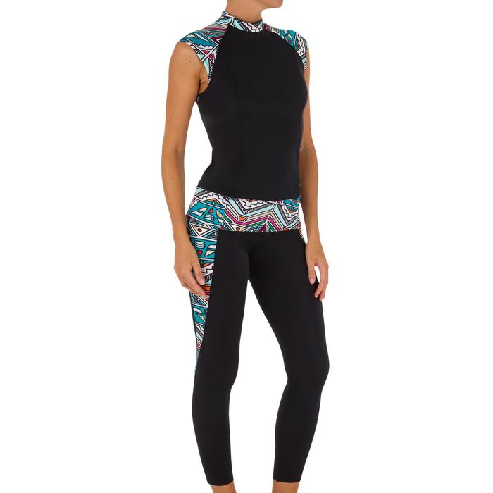Haut de maillot de bain femme tankini avec zip dos IDYL NCOLO DORE - 1078714