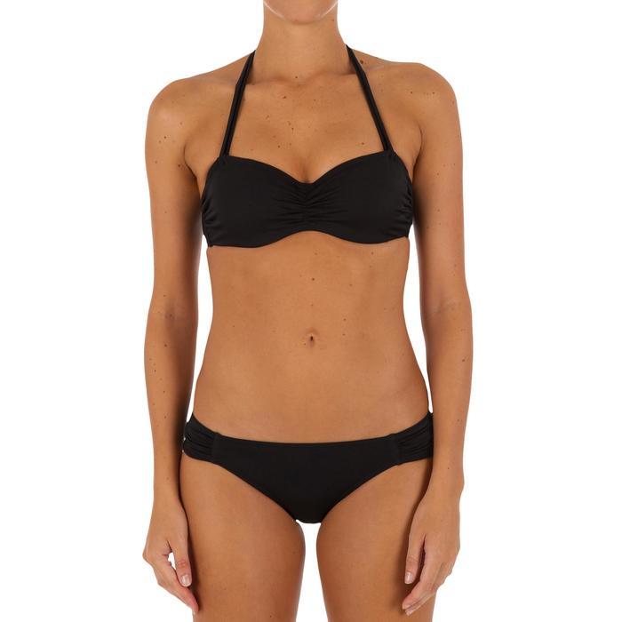 Haut de maillot de bain femme bandeau armatures avec lien cou amovible - 1078724