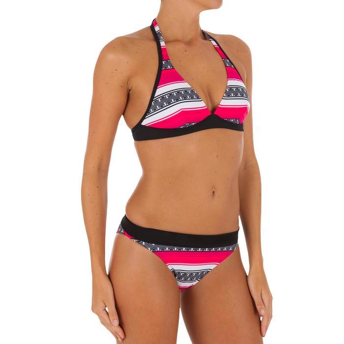 Bikini-Oberteil Neckholder Bahia Guarana Damen schwarz/pink