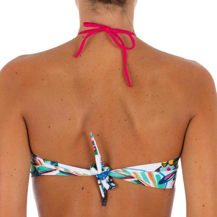 Haut de maillot de bain femme bandeau avec coques fixes LAETI FESTA