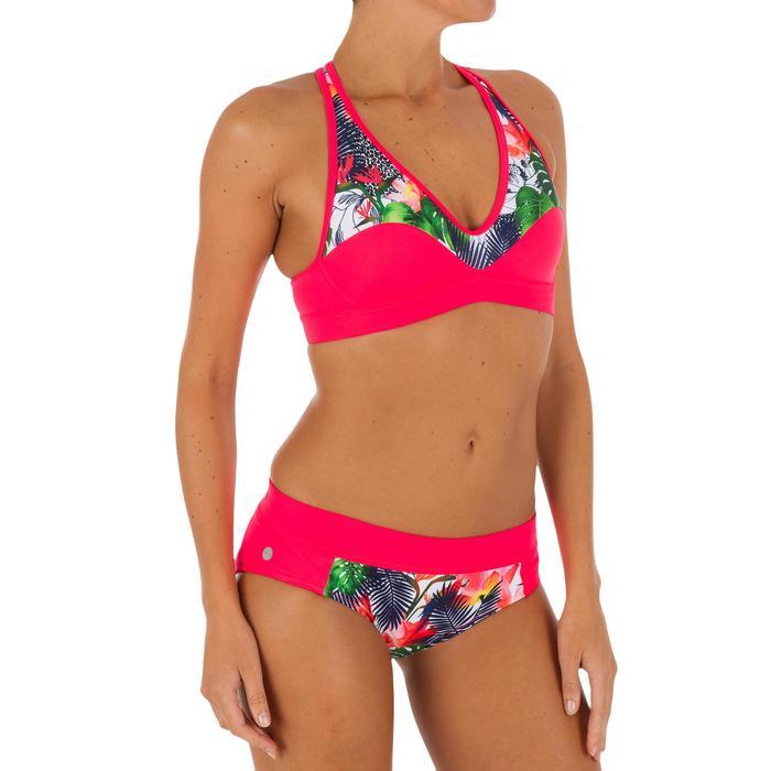 Bas de maillot de bain de surf femme avec cordon de serrage VALY FACET - 1078884