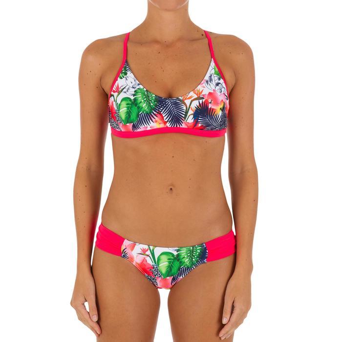 Haut de maillot de bain femme brassière de surf avec coques AGATHA FACET - 1078891
